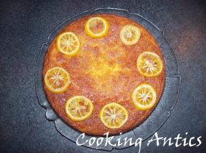 Lemon Gin Cake GF